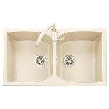 Sinks NAIKY 860 DUO Avena (8596142007257)
