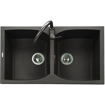 Sinks NAIKY 860 DUO Granblack (8596142007264)