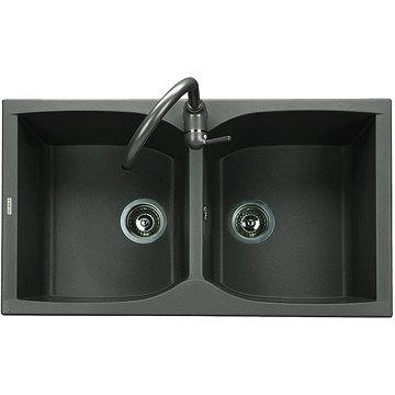 Sinks NAIKY 860 DUO Metalblack (8596142005888)