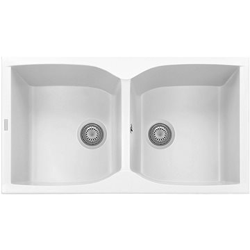 Sinks NAIKY 860 DUO Milk (8596142007288)