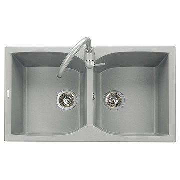 Sinks NAIKY 860 DUO Titanium (8596142007301)