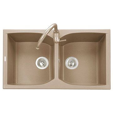 Sinks NAIKY 860 DUO Truffle (8596142007318)