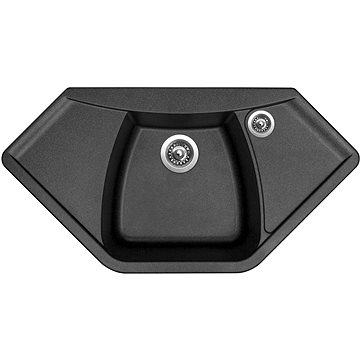 Sinks NAIKY 980 Metalblack (8596142007400)