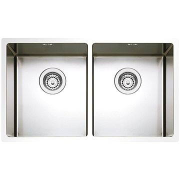 Sinks BOX 755 DUO RO 1,0mm (8596142004058)