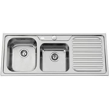 Sinks CAPRICE 1200 DUO V 0,7mm levý texturovaný (8596142004270)