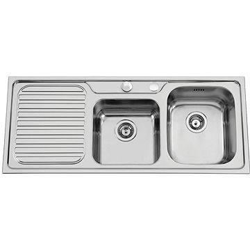 Sinks CAPRICE 1200 DUO V 0,7mm pravý texturovaný (8596142004287)