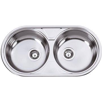 Sinks DUETO 847 V 0,6mm leštěný (8596142004331)