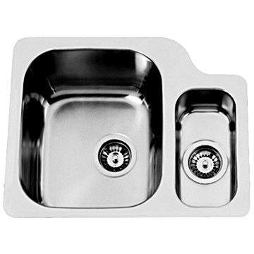Sinks DUO 571.1 V 1,0mm levý leštěný (8596142004379)