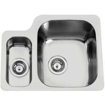 Sinks DUO 571.1 V 1,0mm pravý leštěný (8596142004386)