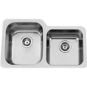 Sinks DUO 755 V 1,0mm levý leštěný (8596142004409)