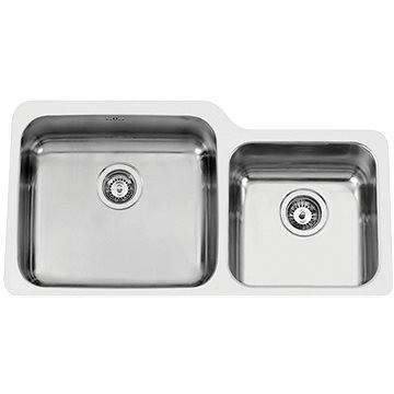 Sinks DUO 865 V 1,0mm levý leštěný (8596142004355)