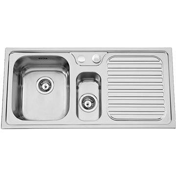 Sinks HERA 1000.1 V 0,7mm levý texturovaný (8596142004430)