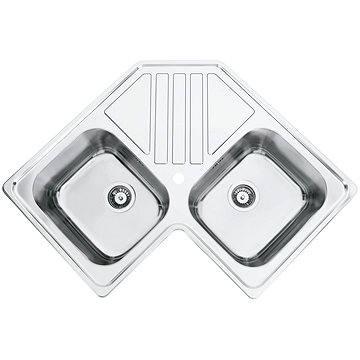 Sinks KEPLER 830 DUO V 0,7mm leštěný (8596142004461)