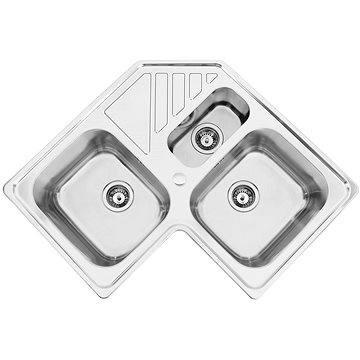 Sinks KEPLER 830.1 DUO V 0,7mm leštěný (8596142003280)