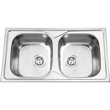 Sinks OKIO 860 DUO V 0,6mm leštěný (8596142004881)
