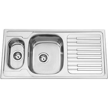 Sinks PIANO 1000.9 V 0,7mm leštěný (8596142005123)