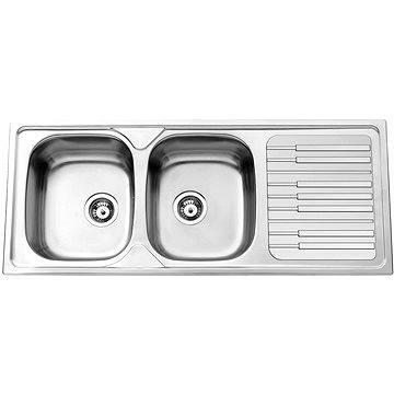 Sinks PIANO 1200 DUO V 0,7mm leštěný (8596142005147)