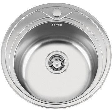 Sinks REDONDO 510 V 0,6mm texturovaný (8596142005253)