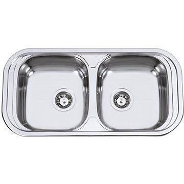 Sinks SEVILLA 860 DUO V 0,6mm leštěný (8596142003334)