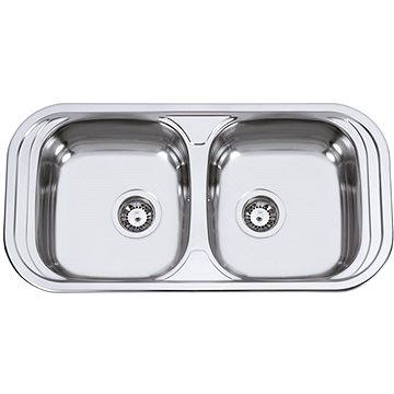 Sinks SEVILLA 860 DUO V 0,6mm matný (8596142005314)