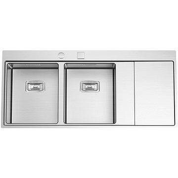 Sinks XERON 1160 DUO levý 1,2mm (8596142004164)