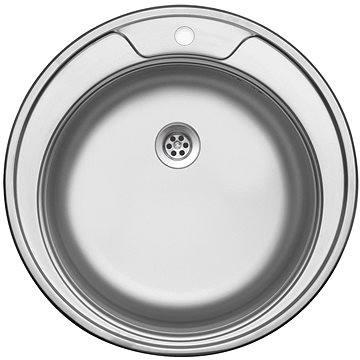 Sinks FAVORITE 490 M 0,6mm matný (UKFAM4906M)