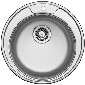 Sinks FAVORITE 490 V 0,6mm matný (UKFAM4906V)