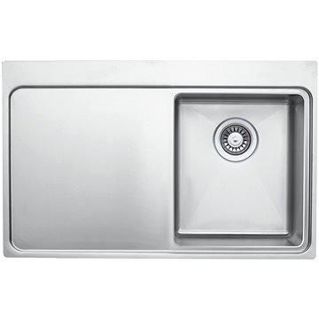 Sinks MICRO 780 V pravý 1,0mm leštěný (UKML7805101VP)