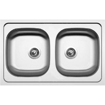 Sinks CLASSIC 790 DUO V 0,6mm matný (8596142021826)