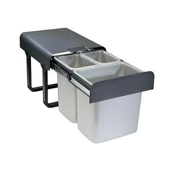Odpadkový koš Sinks EKKO 40 2x8 l+1x16 l (8596142009381)