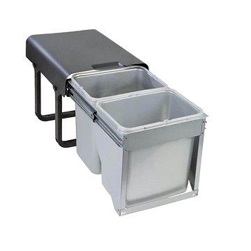 Odpadkový koš Sinks EKKO FRONT 40 2x16 l (8596142009442)