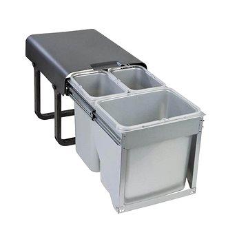Odpadkový koš Sinks EKKO FRONT 40 2x8 l + 1x16 l (8596142009459)