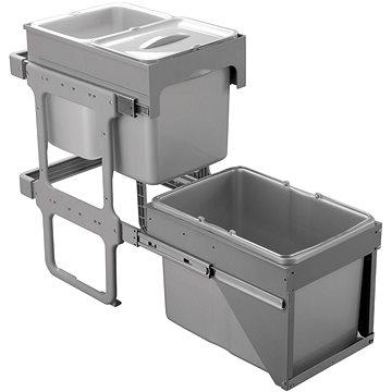 Odpadkový koš Sinks TANDEM FRONT 40 AU 2x16 l + 1x34l (8596142009701)