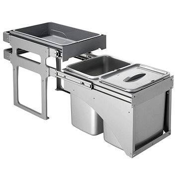 Odpadkový koš Sinks TANK FRONT 40 2x16l (8596142009824)