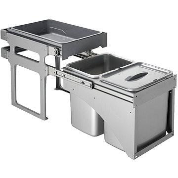 Odpadkový koš Sinks TANK FRONT 40 2x8l + 1x16l (8596142009831)