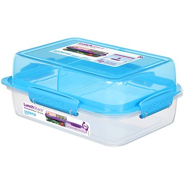 Sistema Lunch Stack Rectangle To Go Blue Online 1.8L (4) (21710-2)
