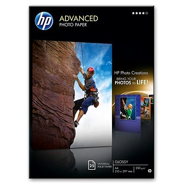 HP Advanced Glossy Photo Paper 10x15cm (Q8008A)
