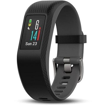 Fitness náramek Garmin vívoSport Optic Black/Slate S/M (010-01789-20)