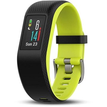 Fitness náramek Garmin vívoSport Optic Black/Limelight L (010-01789-23)