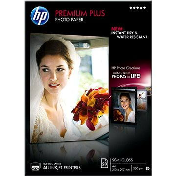 HP Premium Plus Semi-gloss (CR673A)