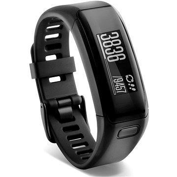 Fitness náramek Garmin vívosmart HR, Black (veľký) (010-01955-15)