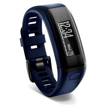 Fitness náramek Garmin vívosmart HR, Blue (8588006377064)