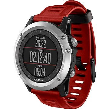 Chytré hodinky Garmin Fenix 3 Silver Performer Bundle (010-01338-16) + ZDARMA Digitální předplatné Exkluziv - SK - PROMO roční předplatné