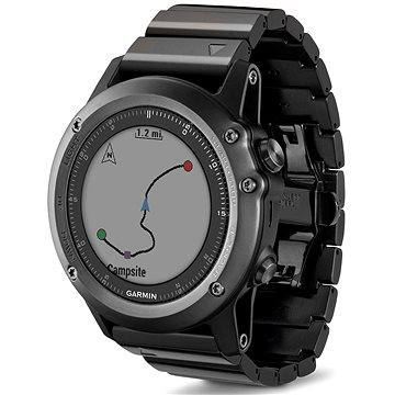 Chytré hodinky Garmin Fenix 3 Sapphire (Gray) (010-01338-21)