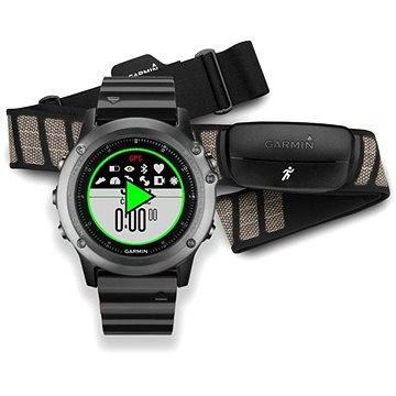 Chytré hodinky Garmin Fenix 3 Sapphire Performer Bundle (010-01338-26) + ZDARMA Digitální předplatné Exkluziv - SK - PROMO roční předplatné