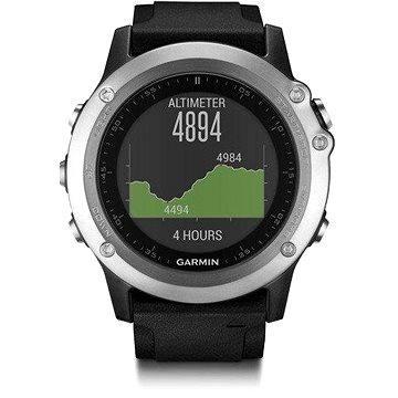 Chytré hodinky Garmin Fenix 3 HR Silver (010-01338-77)