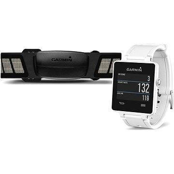 Sporttester Garmin vívoactive White s pulzomerom (010-01297-11) + ZDARMA Digitální předplatné Exkluziv - SK - PROMO roční předplatné