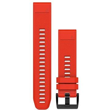 Řemínek Garmin QuickFit 22 silikonový červený (010-12496-03)