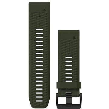 Řemínek Garmin QuickFit 26 silikonový zelený (010-12517-03)