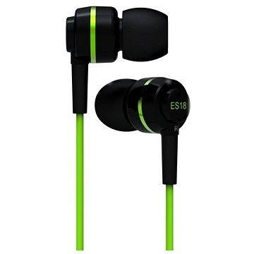 SoundMAGIC ES18 černo-zelená (6949379000669)